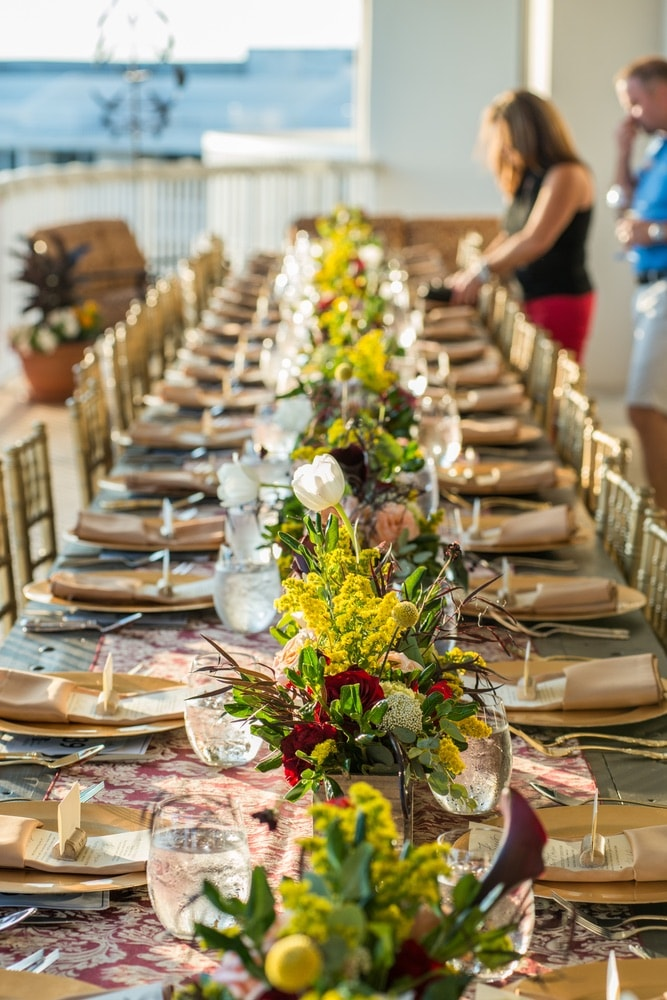 Table decor by Flowers by Milk & Honey – Destin, Florida