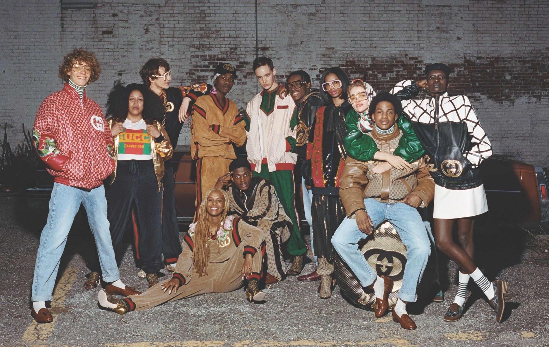 Gucci x Dapper Dan collaboration