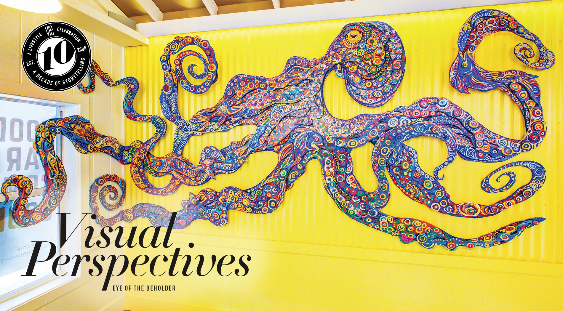 VIE Magazine - The Art & Culture Issue - October 2018 - Visual Perspectives