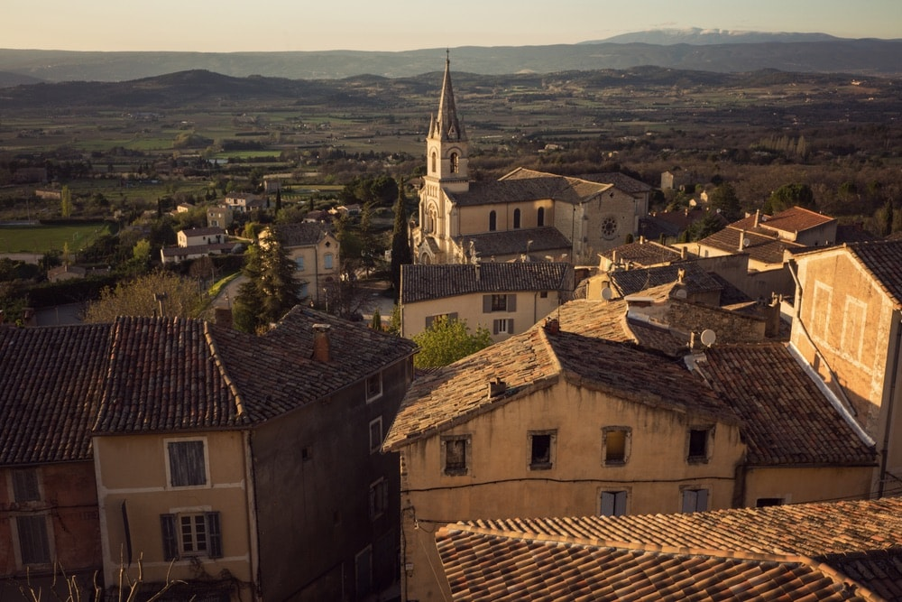 Photograph by Jamie Beck showing a view of Provence France