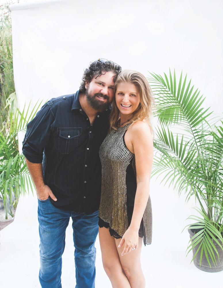 Ken Johnson and Andi Zack-Johnson of Huck & Lilly