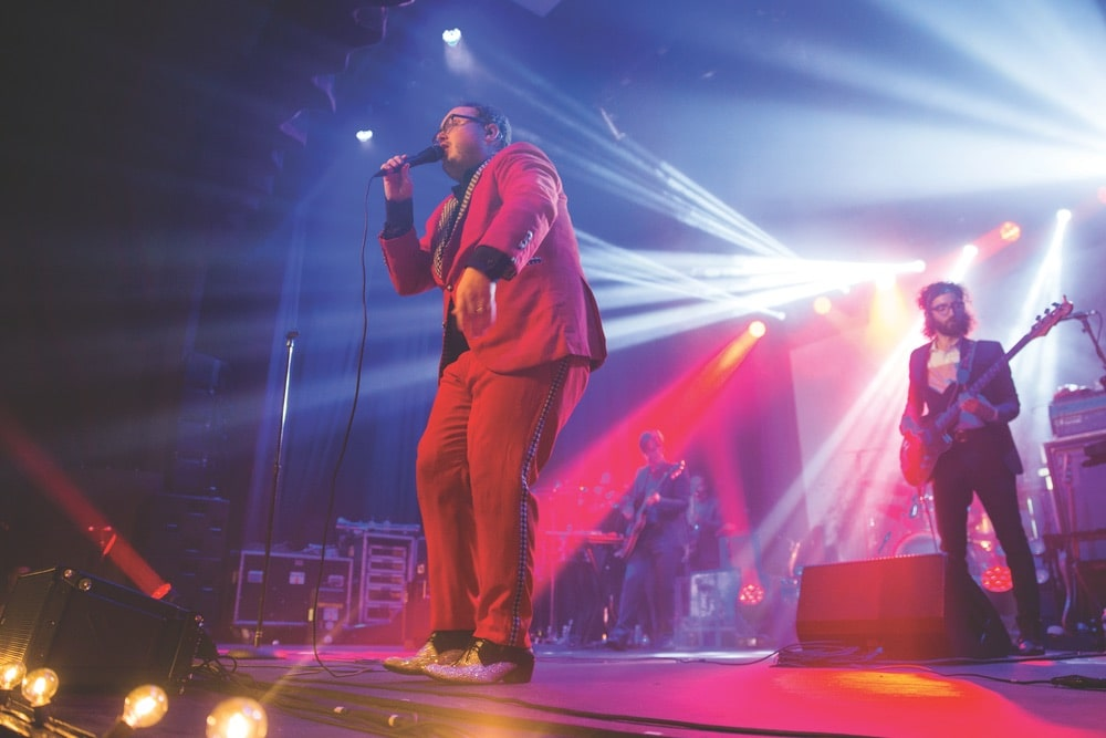 Soul sensations St. Paul and the Broken Bones headlined Friday night's concert at the Shoals Community Theatre.
