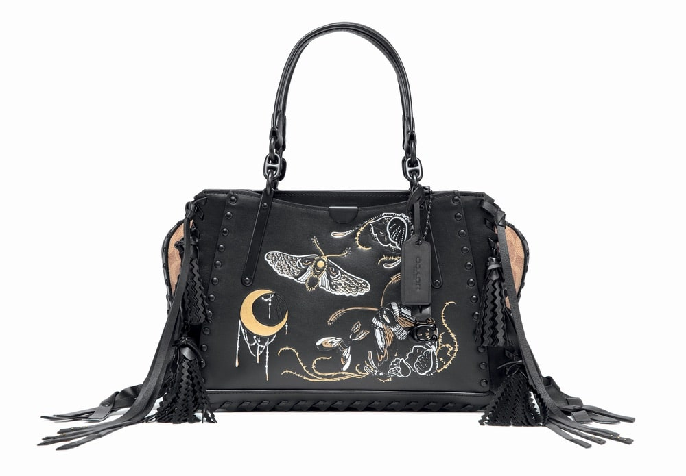 Coach x Chelsea Champlain Dreamer Bag in Signature Canvas with Tattoo