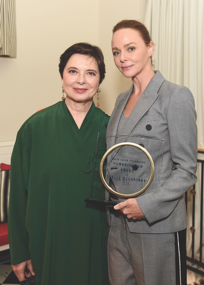Isabella Rossellini and Stella McCartney