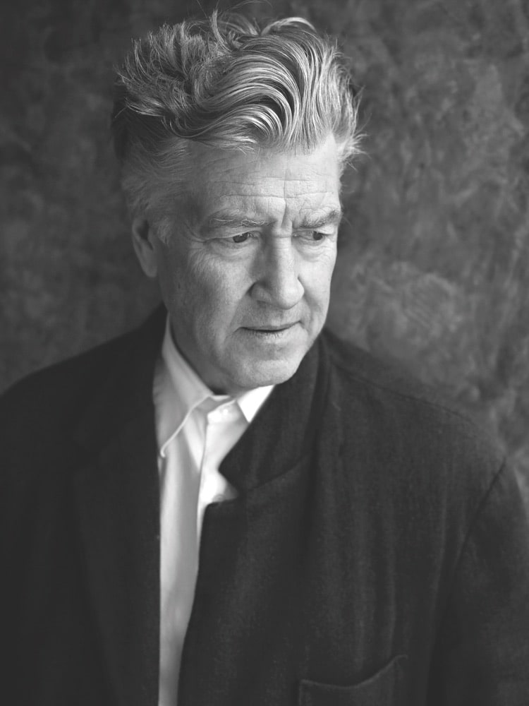 Filmmaker and philanthropist David Lynch