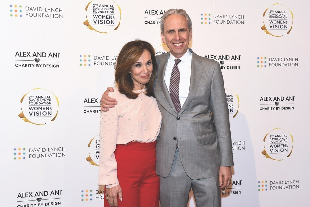 Rosanna Scotto and David Lynch Foundation CEO Bob Roth