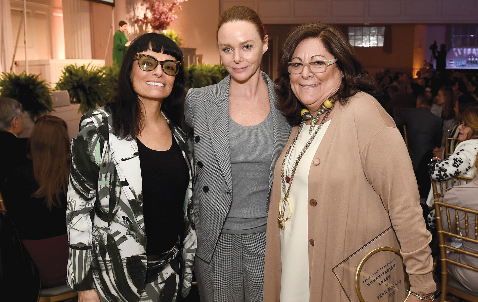 Norma Kamali, Stella McCartney, and Fern Mallis