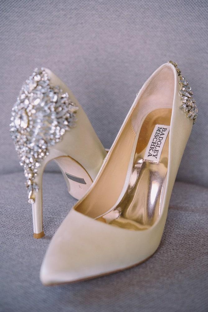 Ellie Romair's wedding shoes