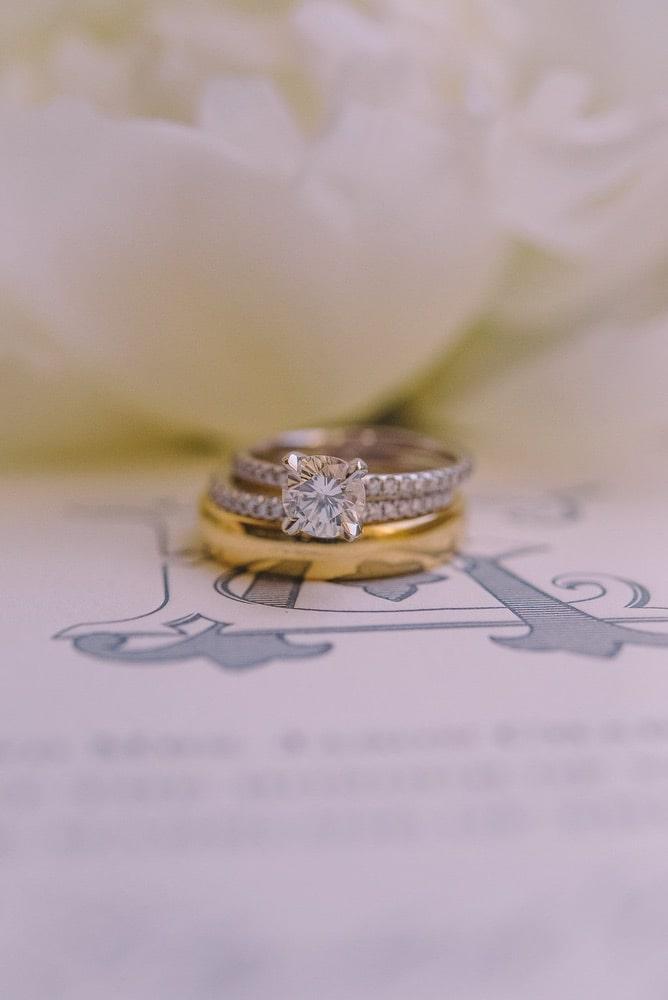 Ellie Romair's wedding ring