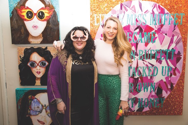 Media Coverage: Ashley Longshore's Pop-Up Gallery Grand Opening Party