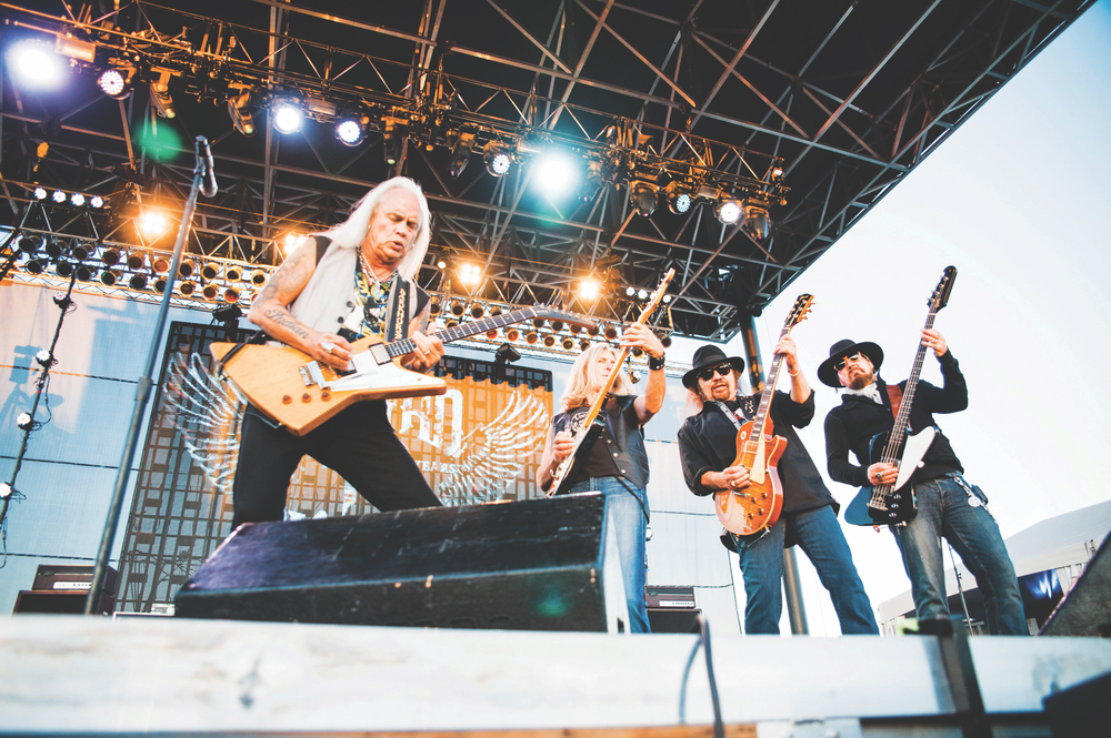 Lynyrd Skynyrd performs at Thunder Valley Casino and Resort in Lincoln, California, in 2013