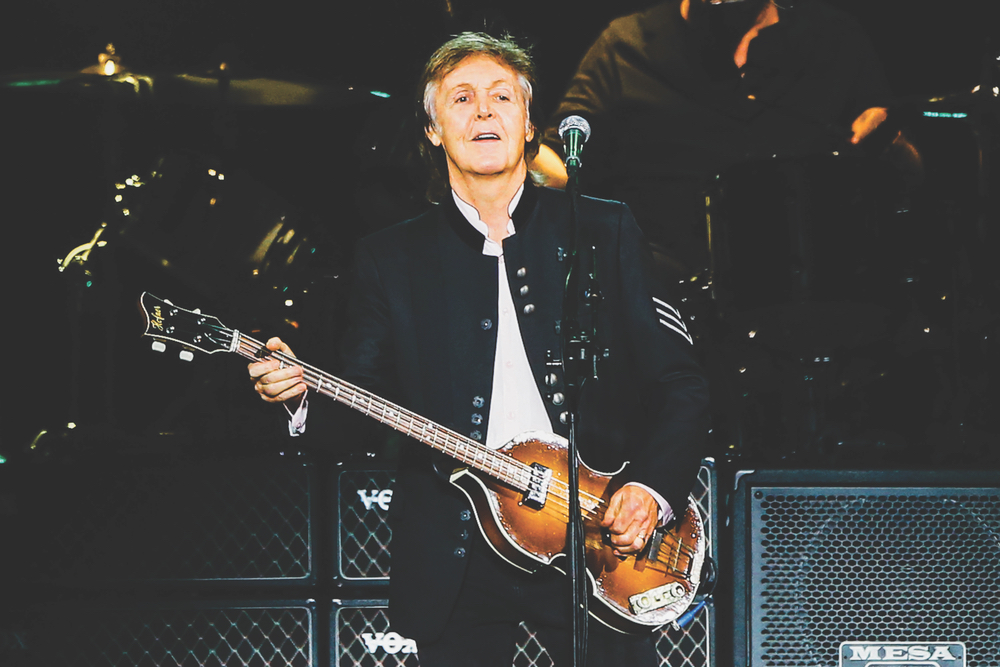 Paul McCartney performs at NYCB Live