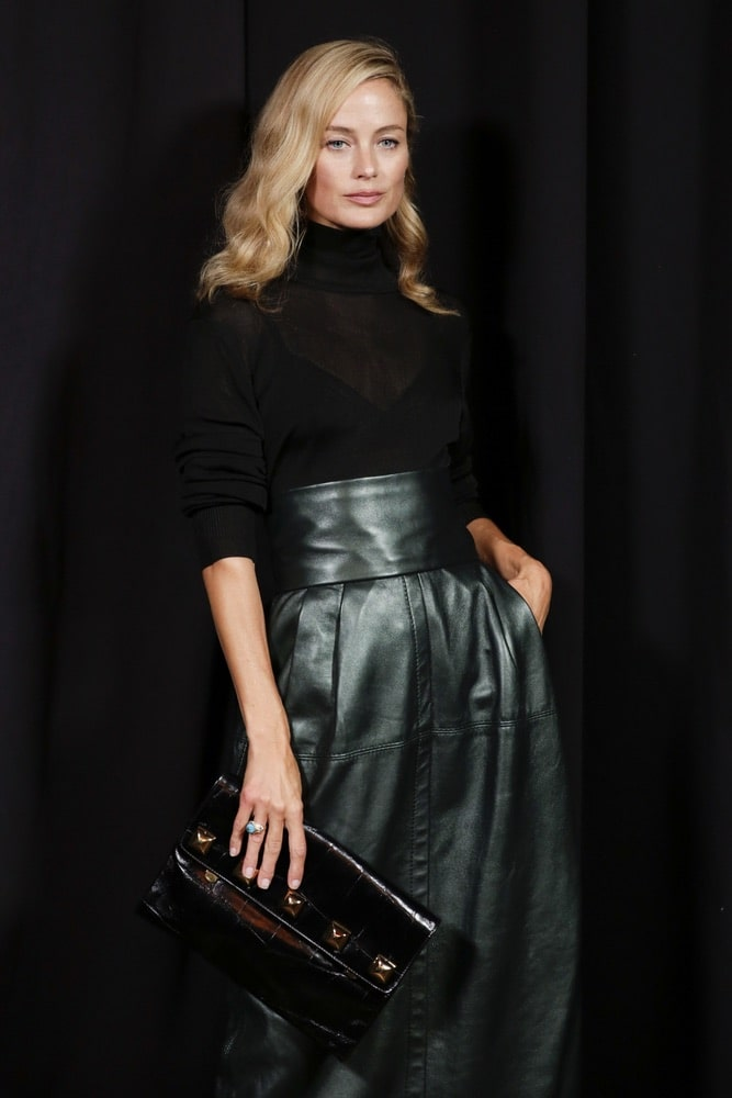 Carolyn Murphy at Marc Jacobs SS19 NYFW runway show