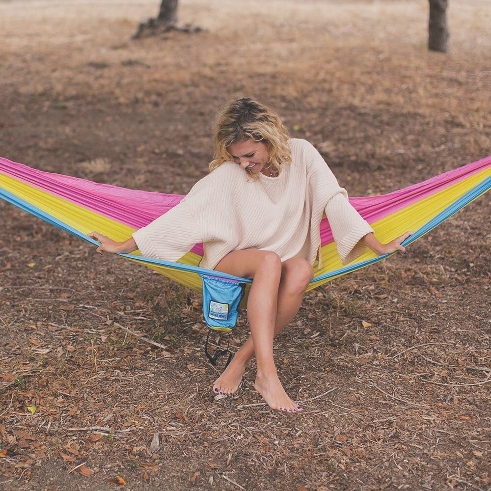 Wise Owl Outfitters Portable Nylon Hammock