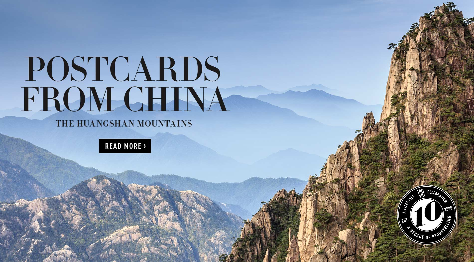 VIE Magazine - Special Anniversary Travel Edition - December 2018 - Huangshan Mountains in China
