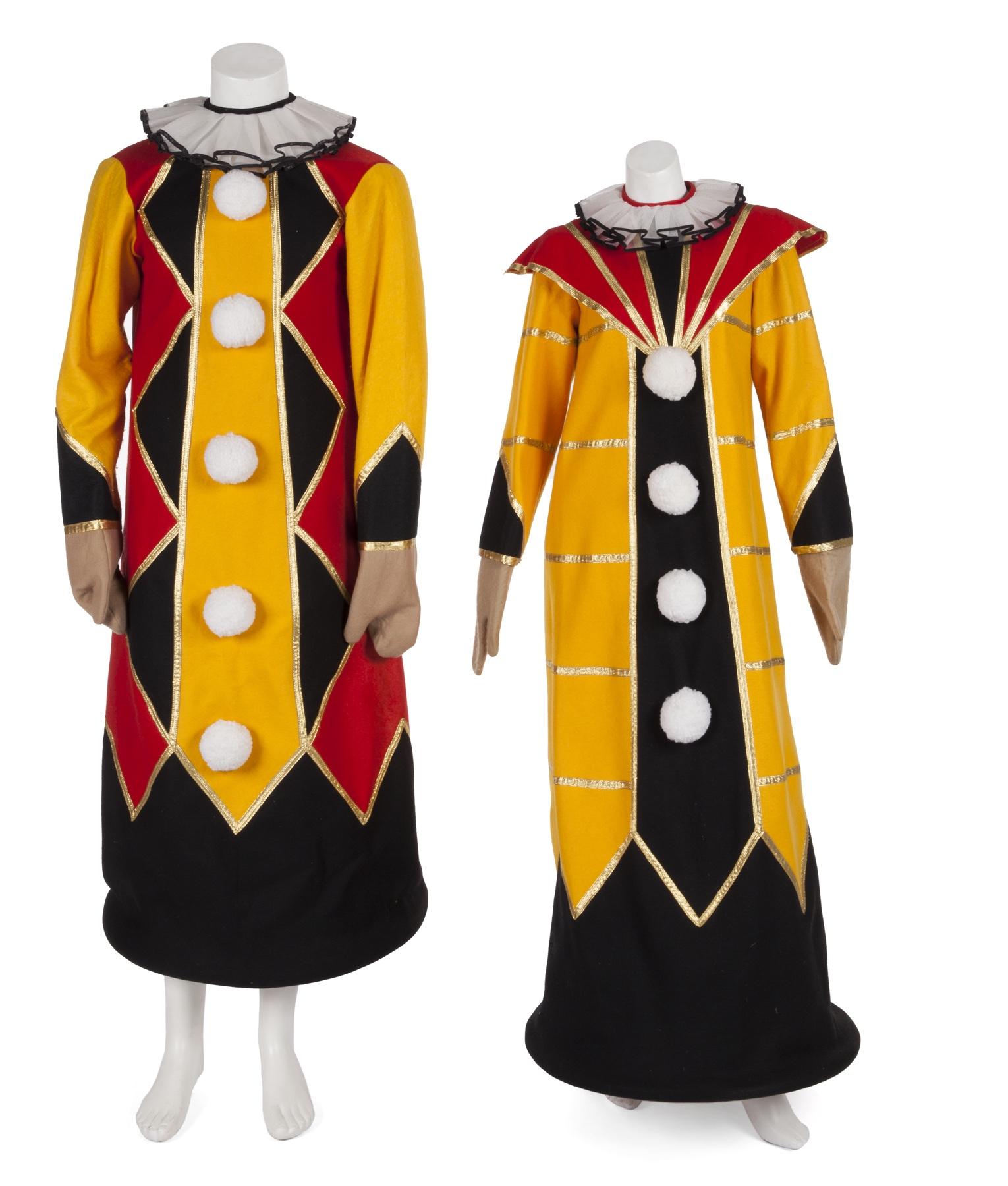 Carol Burnett and Joel Gray costume by Bob Mackie from Carol Burnett Show