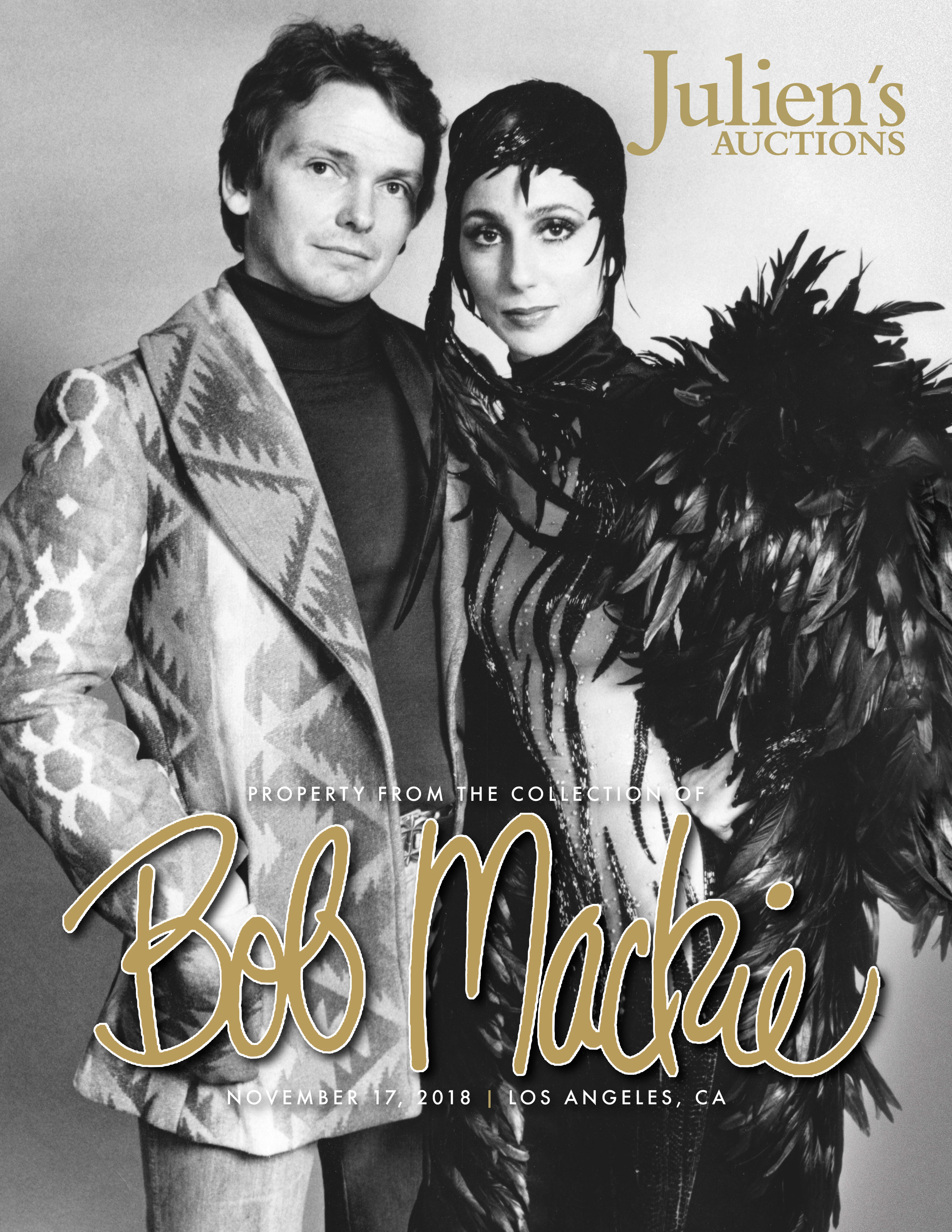 Bob Mackie Collection goes on auction November 17 2018 in Los Angeles
