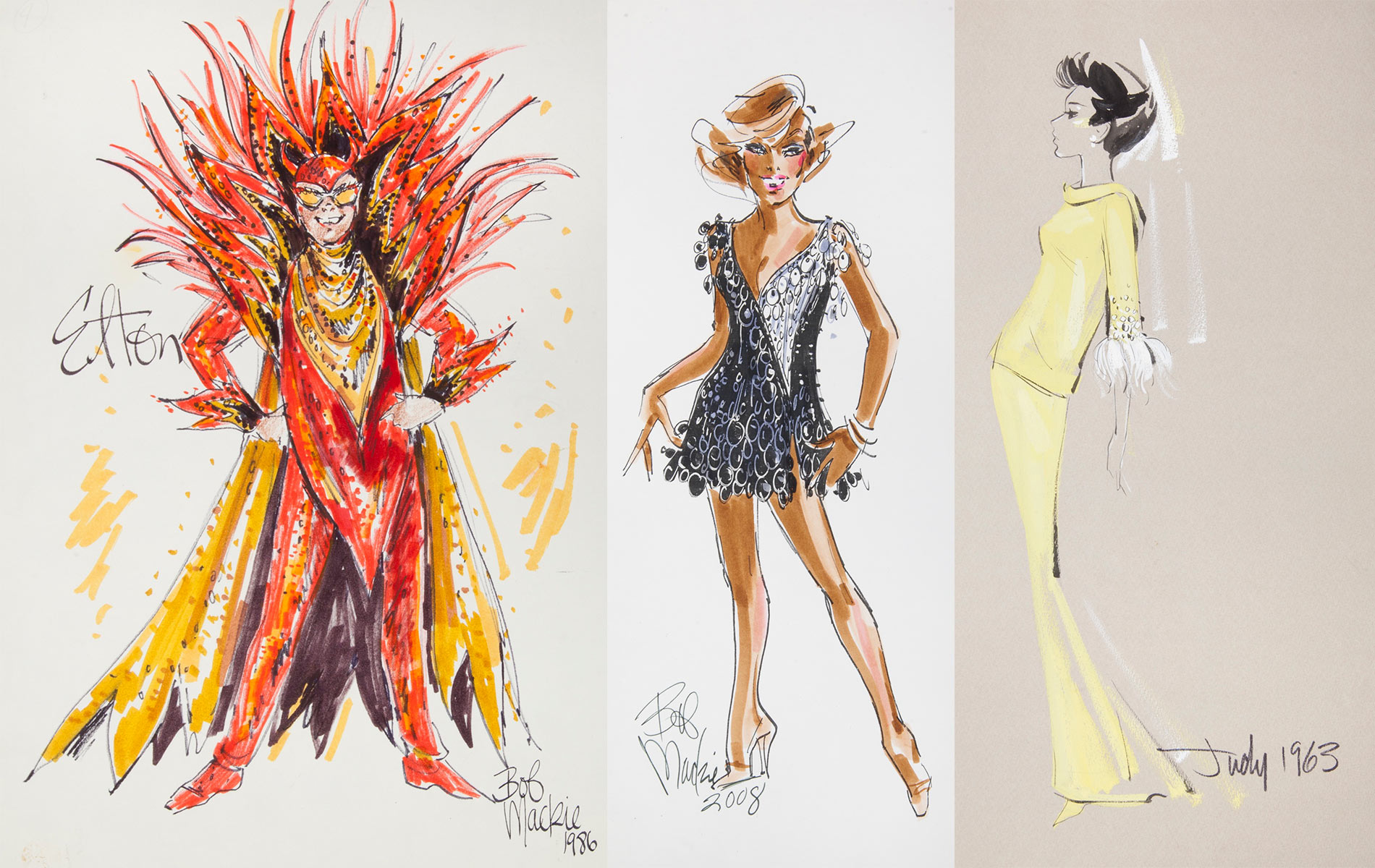 The Bob Mackie Collection at Julien's Auctions will take place November 17, 2018, at the Standard Oil Building in Los Angeles