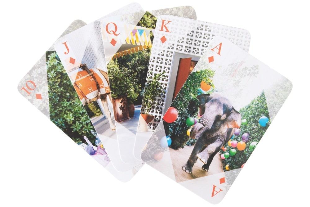 Gray Malin at the Parker Playing Card Set