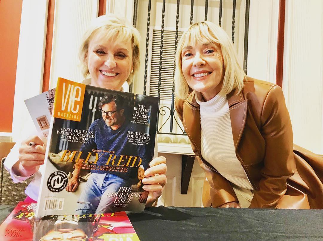 Tina Brown Lisa Burwell VIE Magazine Charleston South Carolina November 2018 Billy Reid