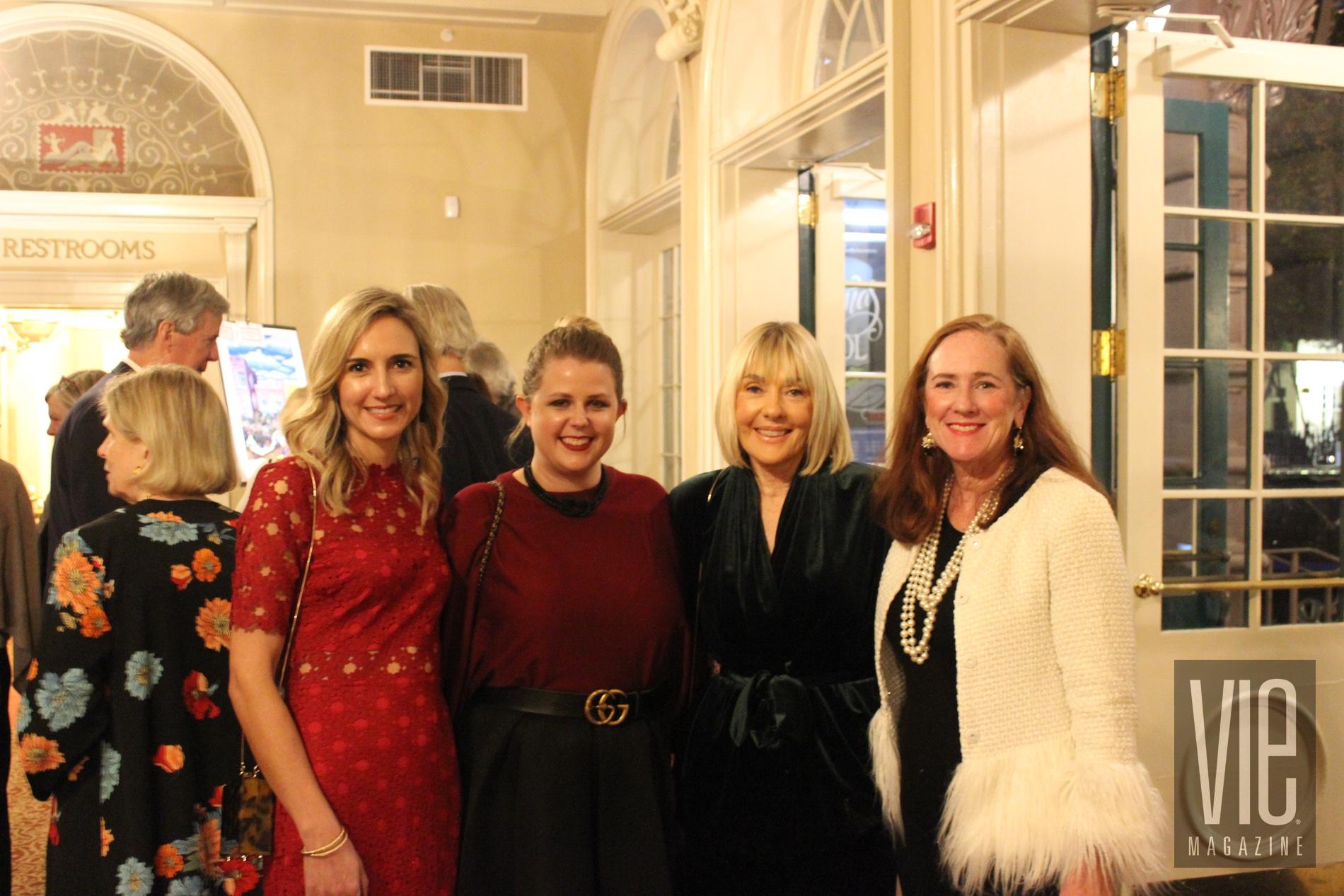 VIE magazine Charleston Literary Festival Lisa Burwell Tracey Thomas Jordan Staggs Marianne Duffey