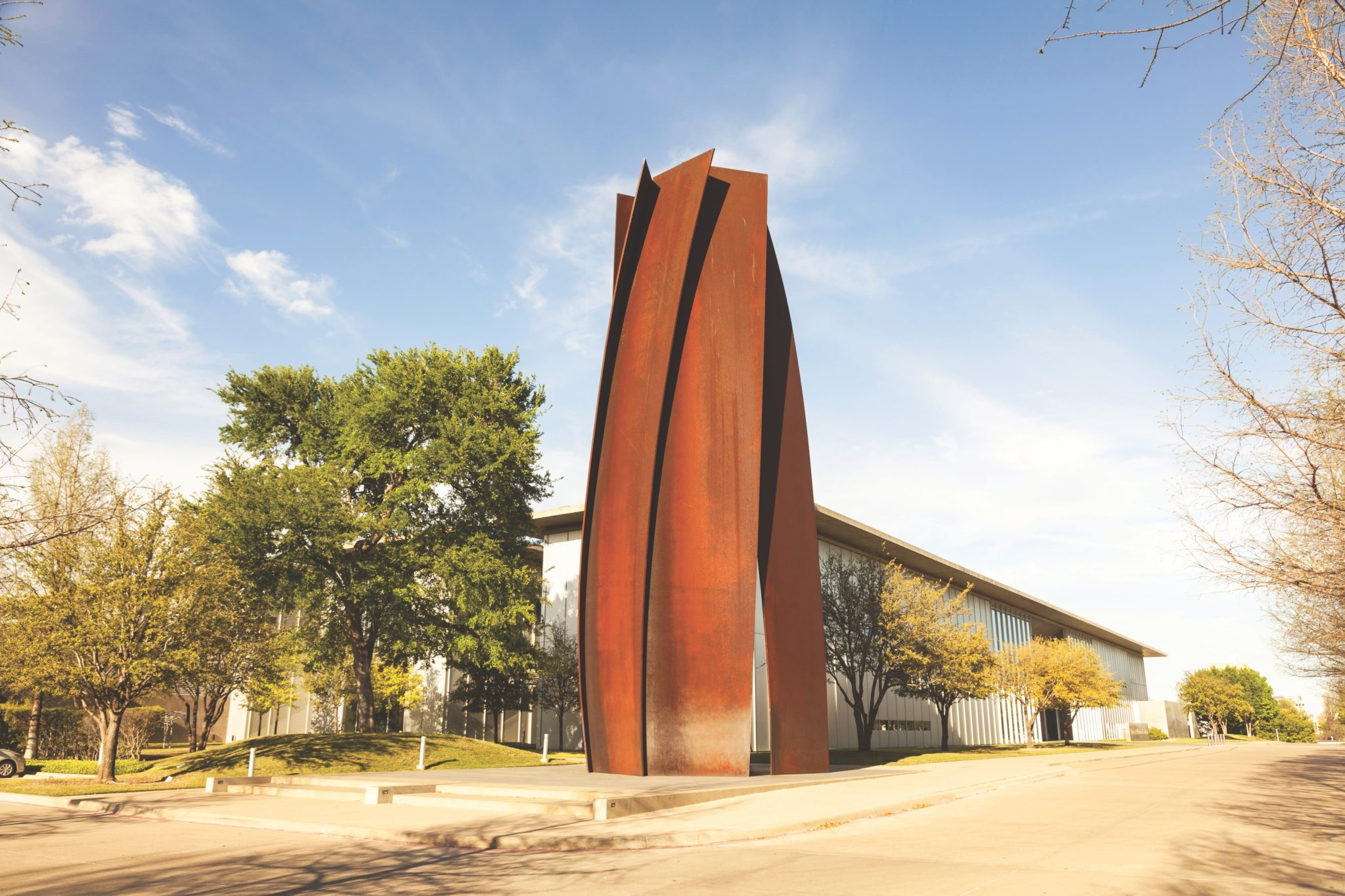 The exterior of the Modern Art Museum of Fort Worth