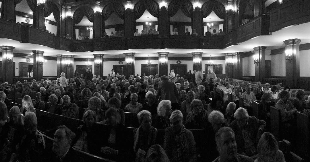 VIE magazine Dock Street Theatre Charleston to Charleston Literary Festival 2018