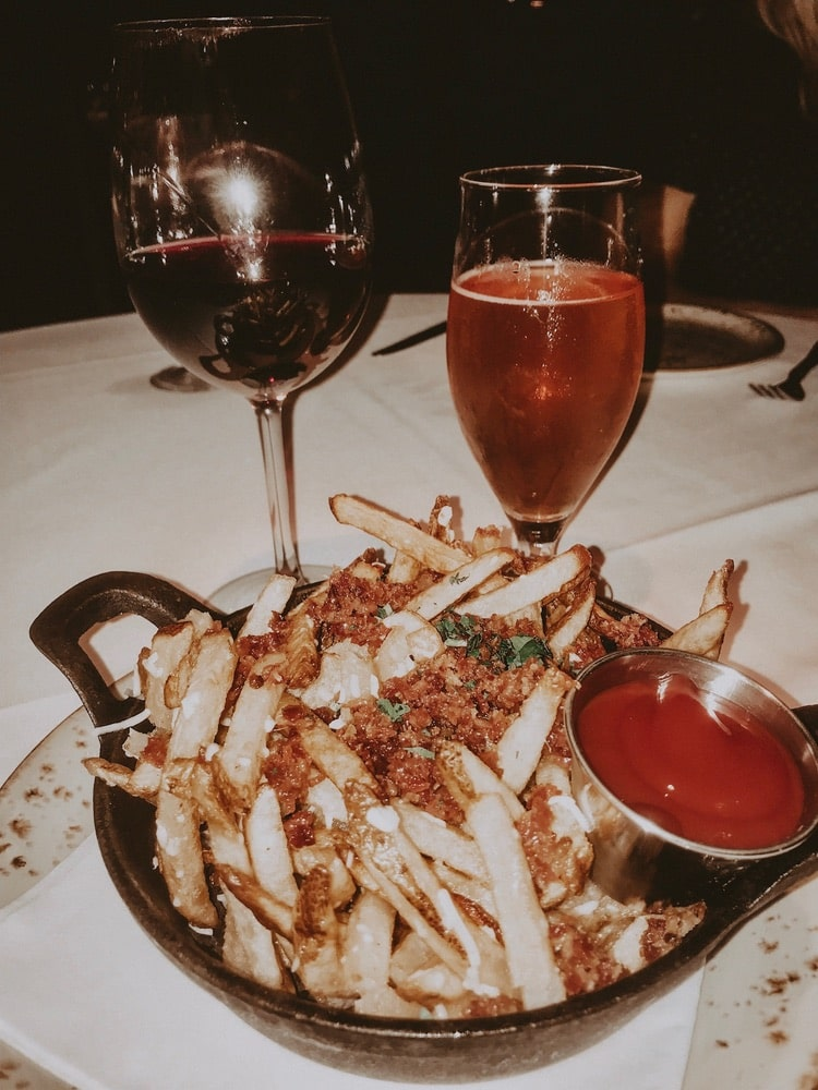 Truffle Fries from Stars Rooftop & Grill Room in Charleston, South Carolina