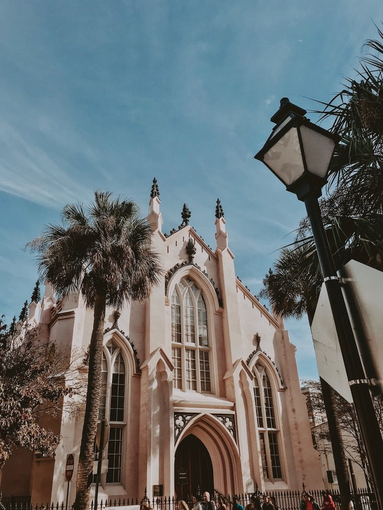 French Huguenot Church in Charleston, South Carolina