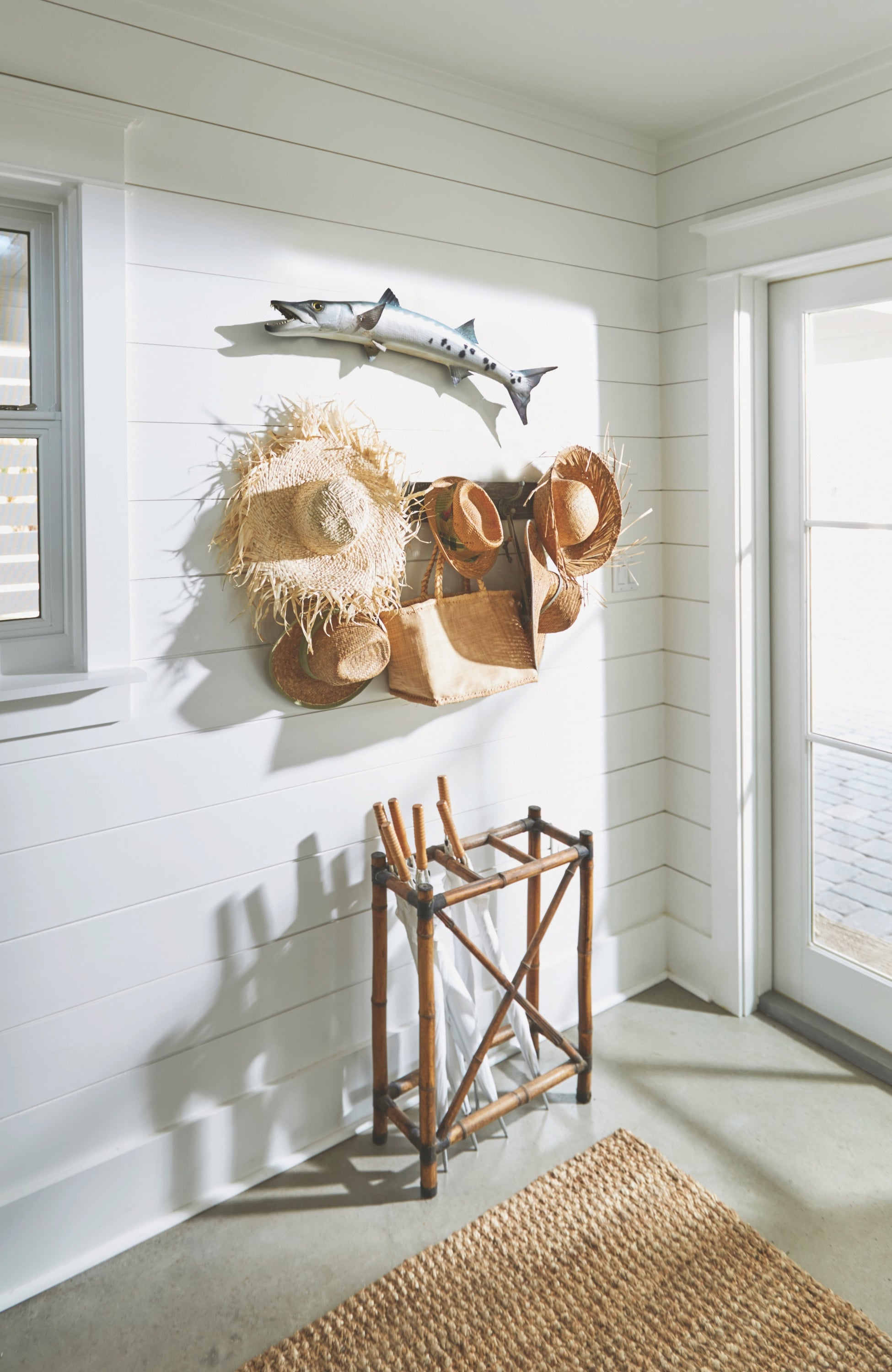 Interior details from a home in Grayton Beach, Florida, designed by Holly Shipman