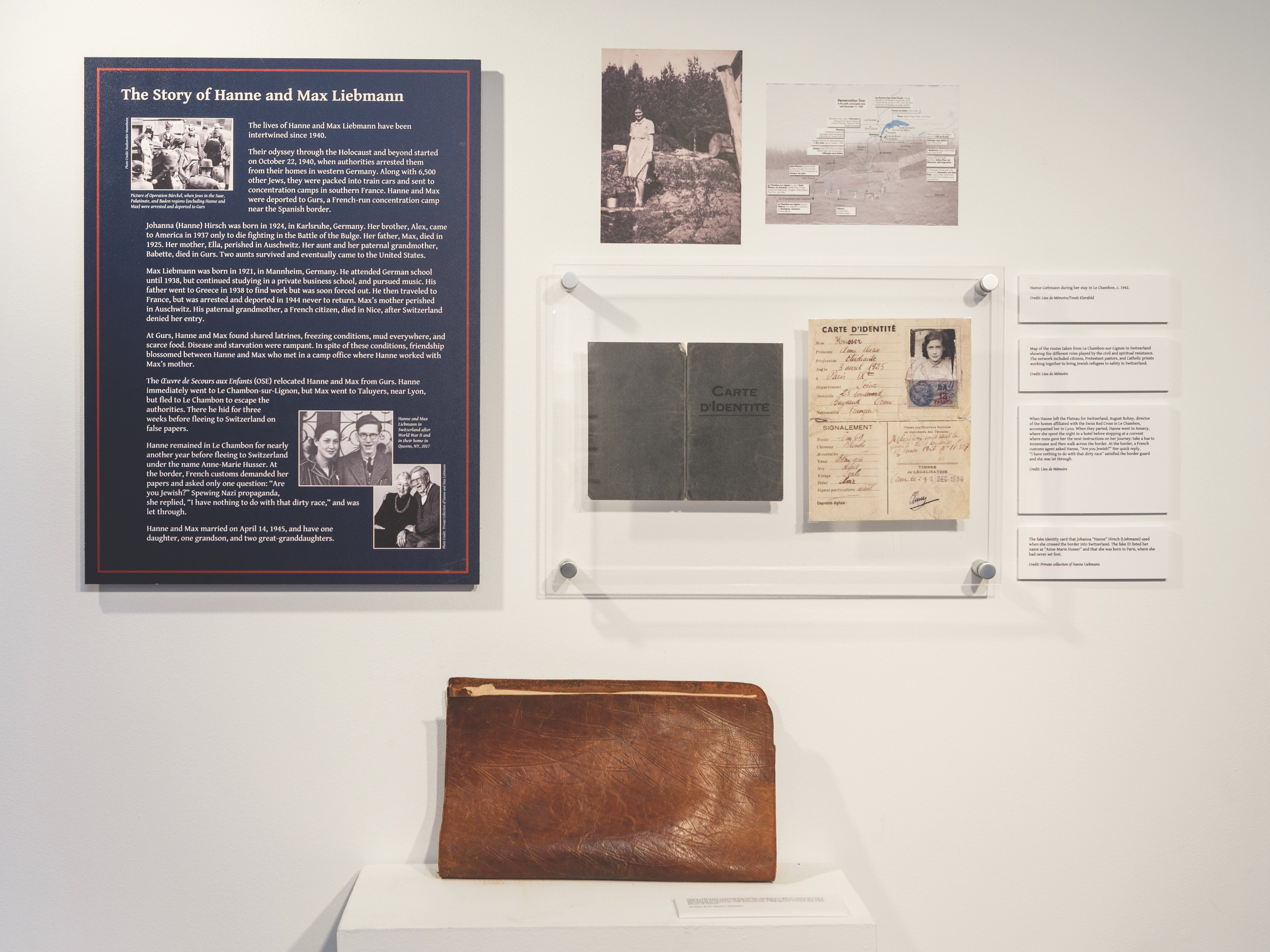 Hanne Leibmann's satchel