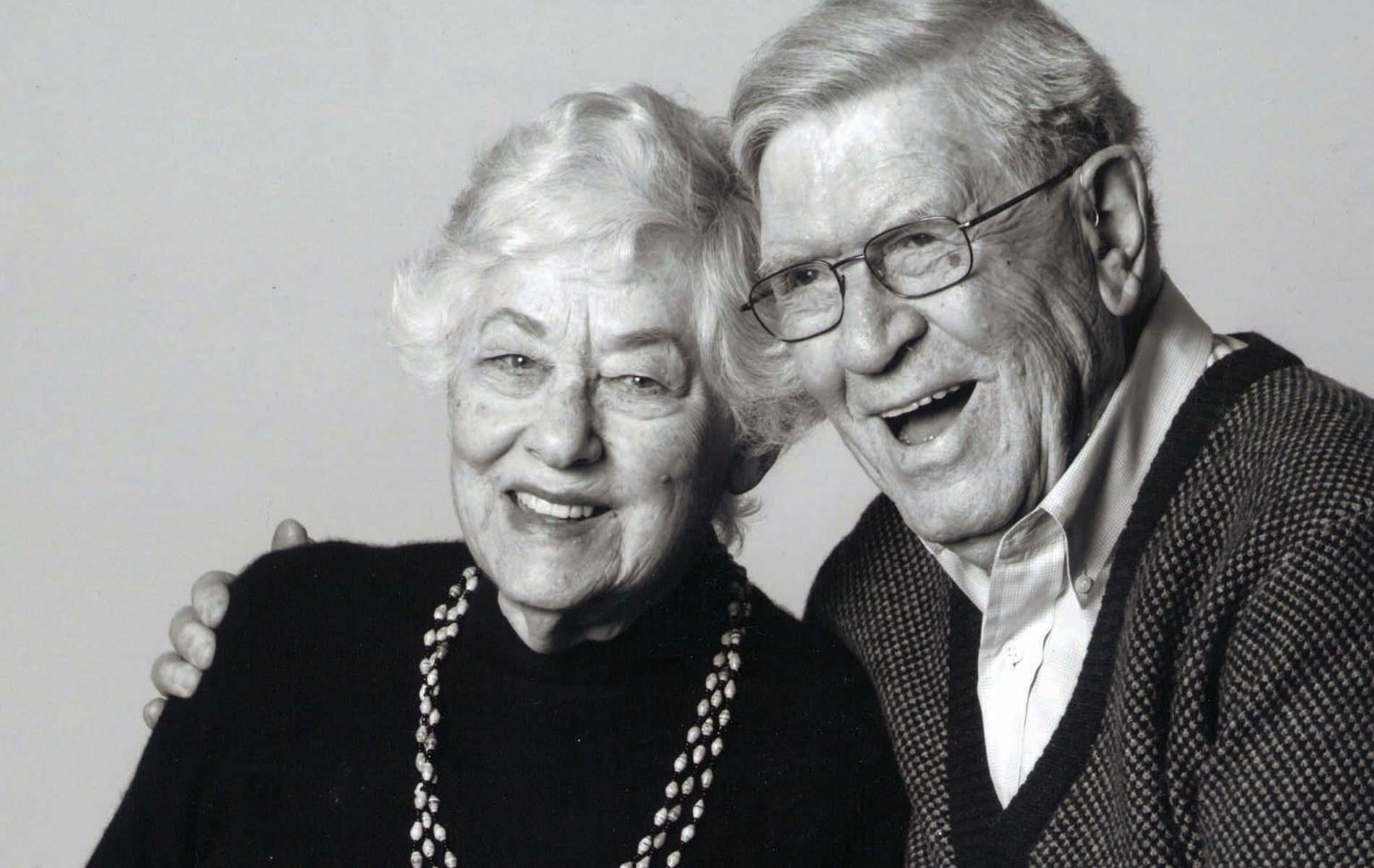 A portrait of Hanne and Max Leibmann