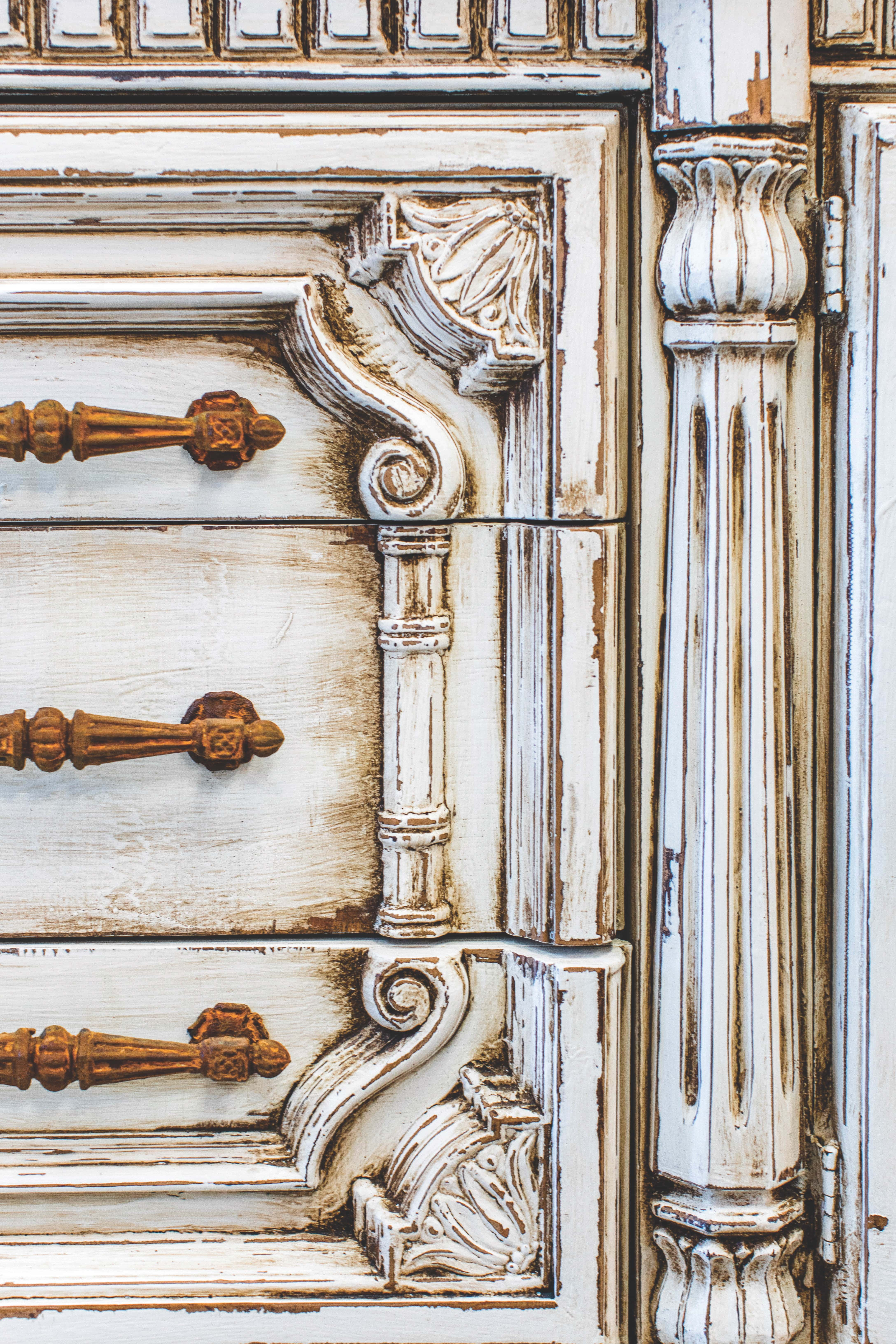 A custom painted dresser by Marisol Gullo