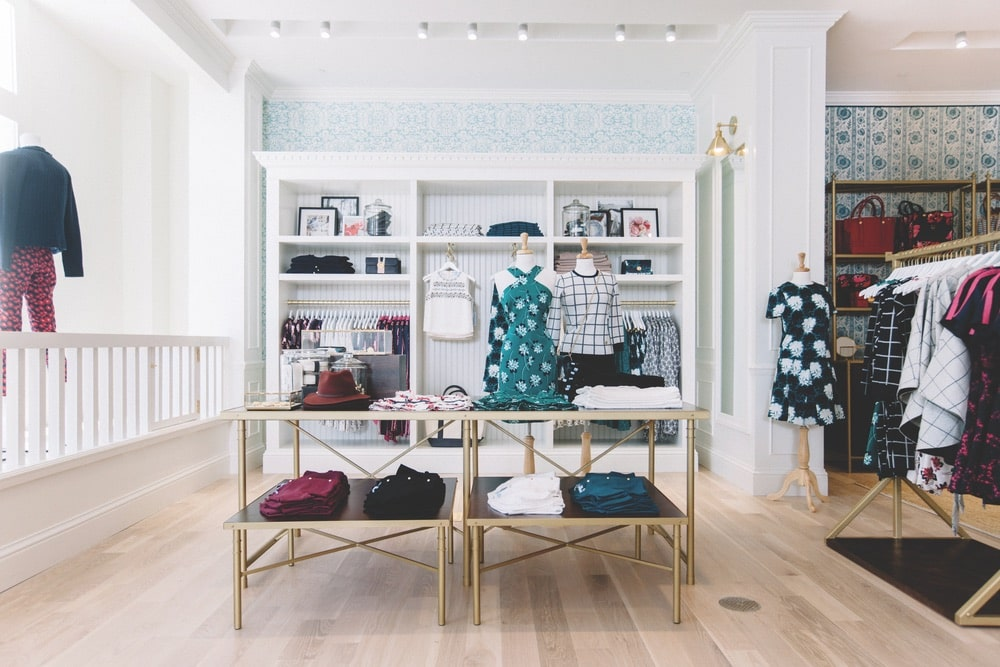 Reese Witherspoon's lifestyle brand, Draper James, launched in 2015 and now has charming store locations in Nashville (shown here), Dallas, Atlanta, and Lexington, Kentucky