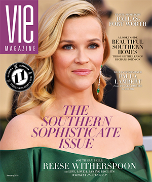 VIE Magazine - January 2019 - Southern Sophisticate Issue Cover