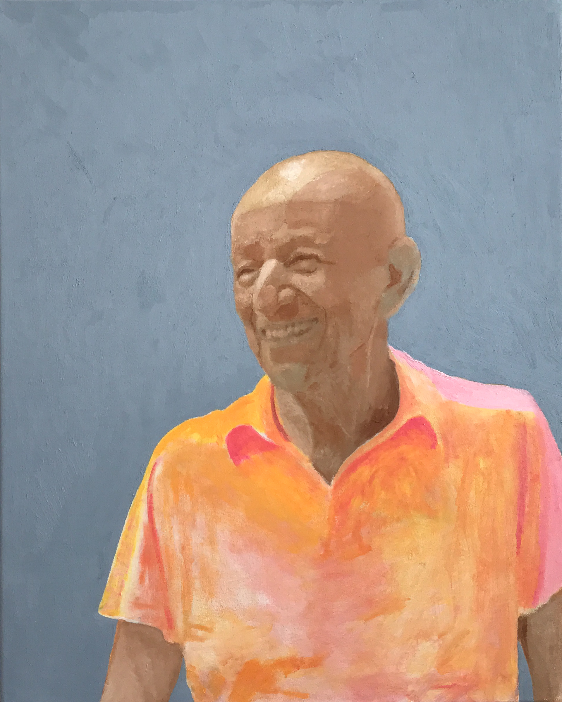 Tyler Loftis Portrait of Alex Katz VIE magazine