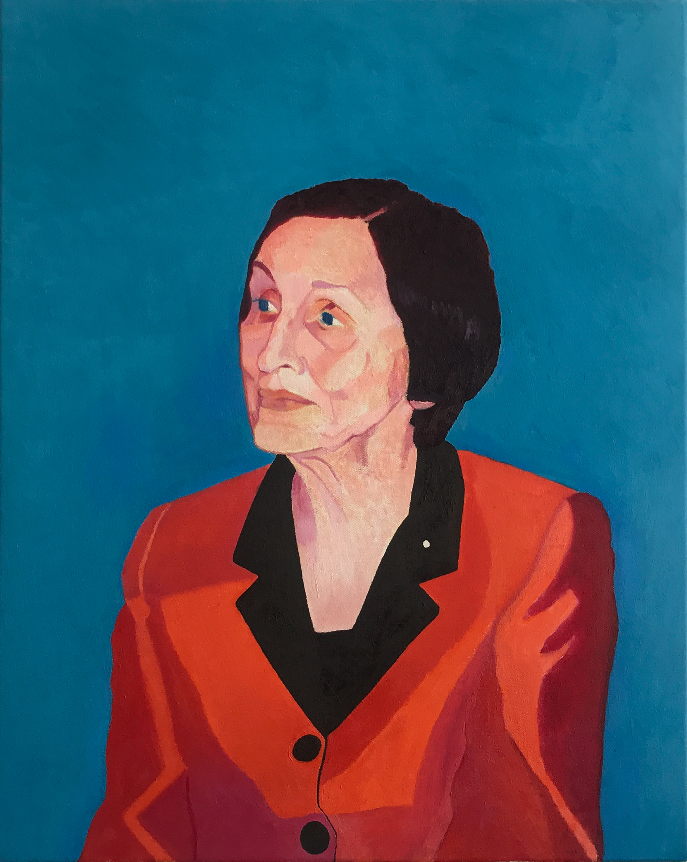 Tyler Loftis Portrait of Francoise Gilot VIE magazine