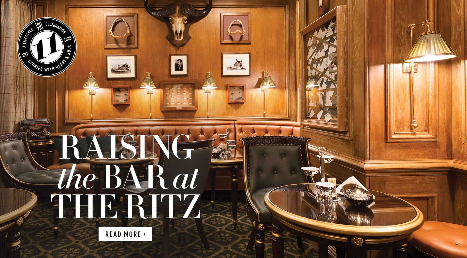 VIE Magazine - January 2019 - Southern Sophisticate Issue - Colin Fields Ritz Paris
