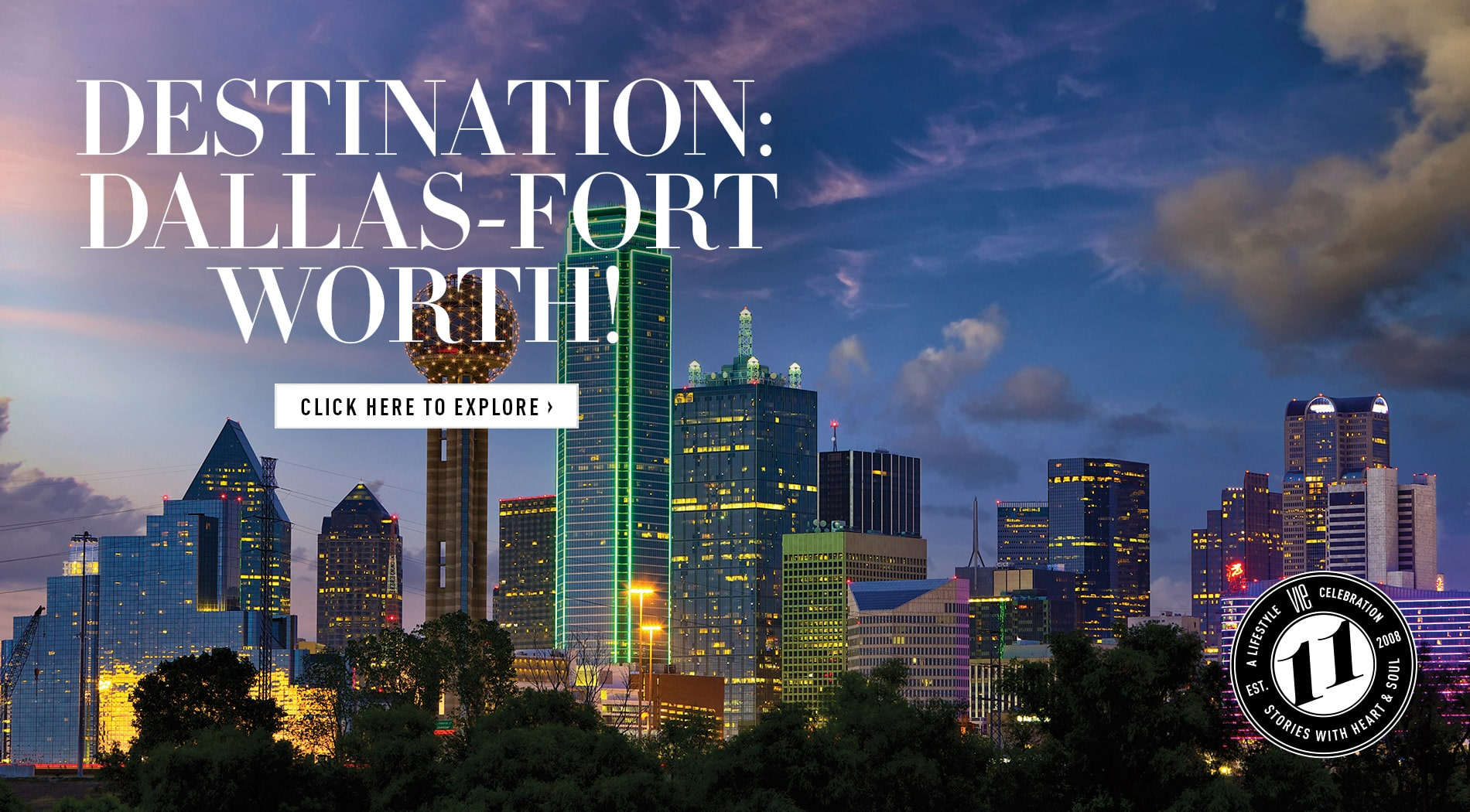 VIE Magazine - January 2019 - Southern Sophisticate Issue - Dallas Travel Guide