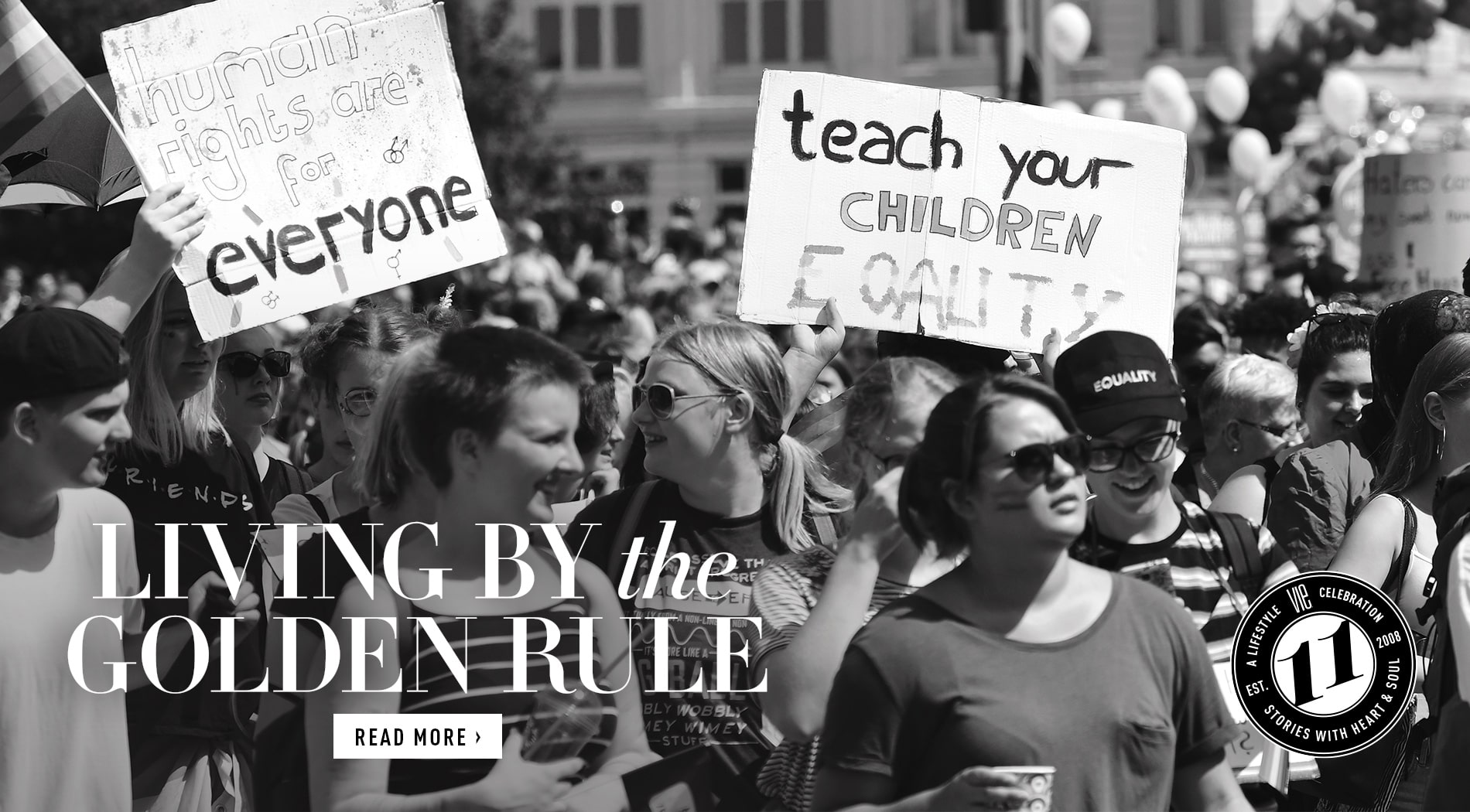 VIE Magazine - January 2019 - Southern Sophisticate Issue - Human Rights Campaign