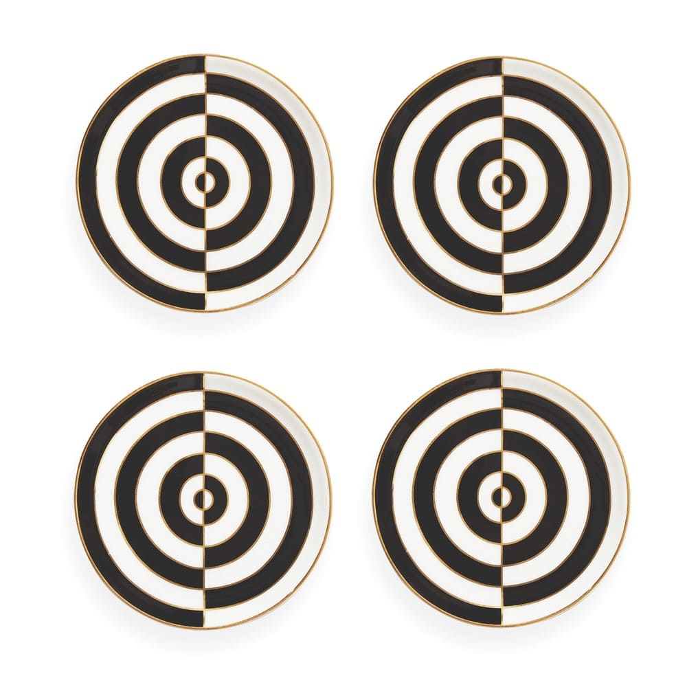 Jonathan Adler Op Art Coasters Set