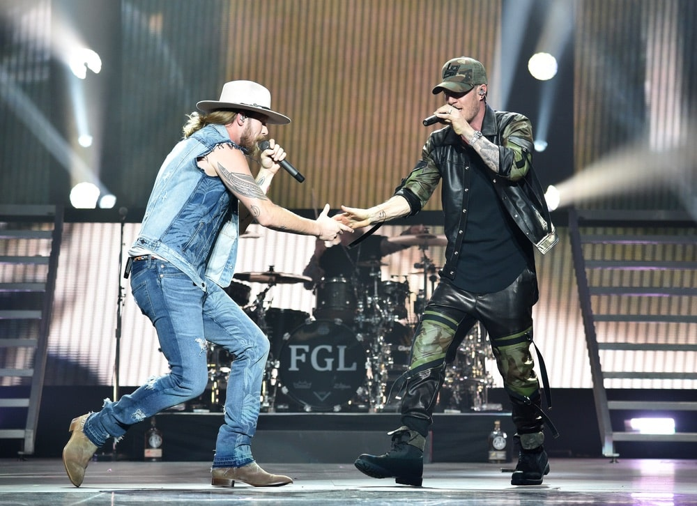 Always stylish and energetic, Brian Kelley and Tyler Hubbard of Florida Georgia Line's stage presence brings the house down!