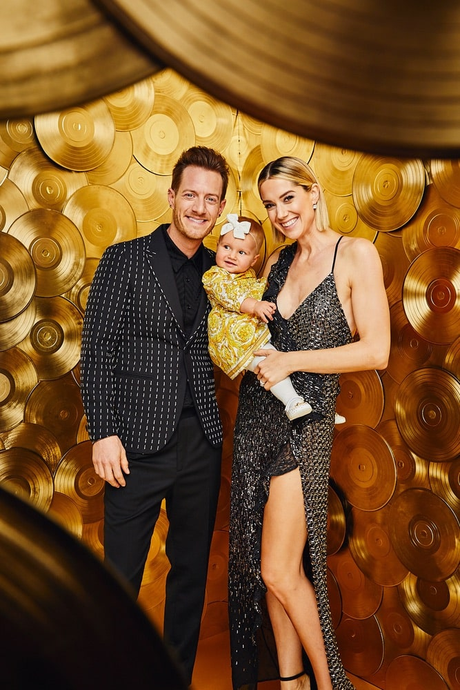 Tyler and Hayley Hubbard welcomed baby Olivia Rose in December of 2017.