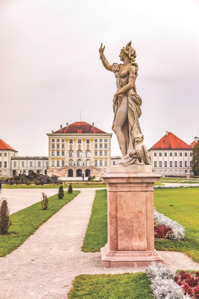 Nymphenburg Palace was once the summer residence for the rulers of Bavaria of the House of Wittelsbach. Today, the baroque beauty and its grounds are open to the public for tours and events. Photo by Val Thoermer / Shutterstock