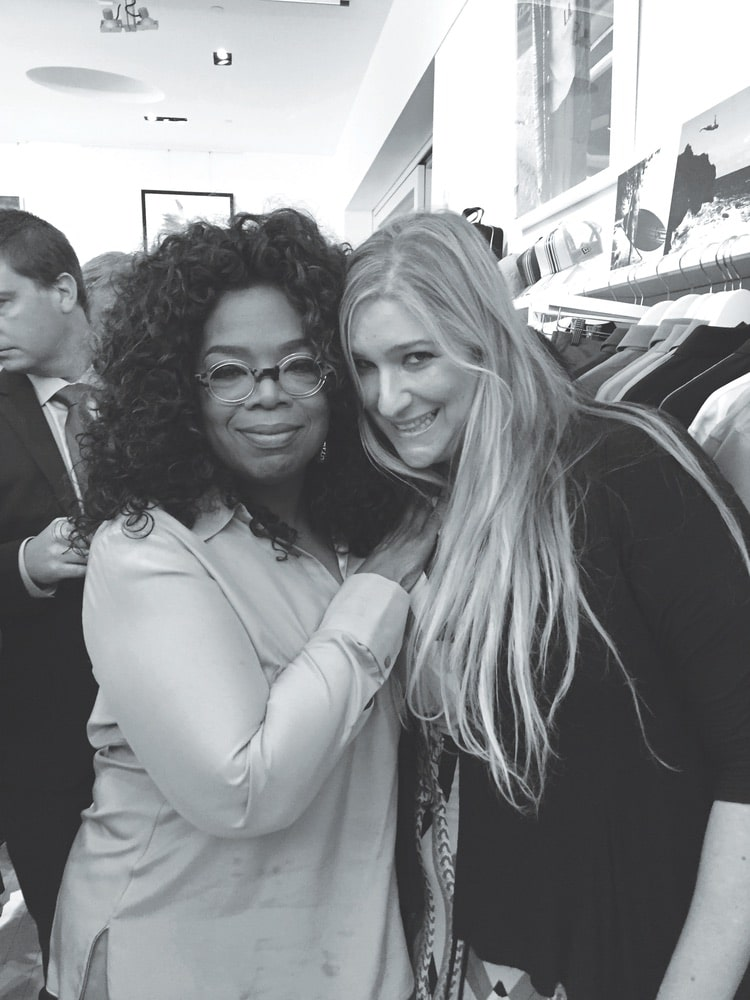 Oprah Winfrey attends Laird Apparel launch at Ron Robinson