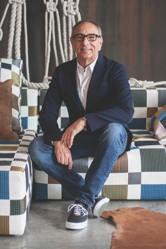 Creative visionary Ron Robinson celebrates forty years in business with his stylish retail stores on Melrose Avenue in LA and on Fifth Street in Santa Monica.