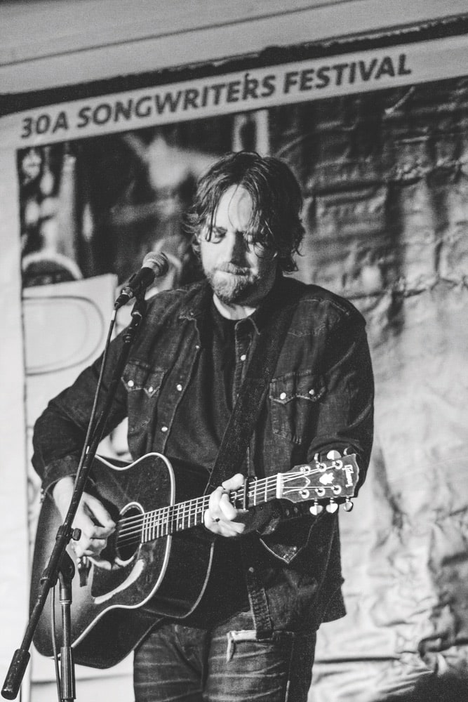 Hayes Carll rocks the stage at 30A Songwriters Festival 2019.