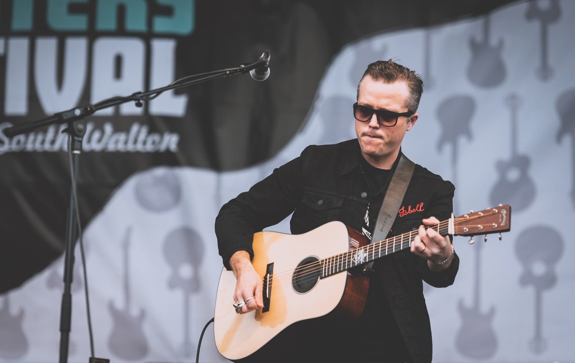 Jason Isbell returned to 30A Fest to headline Saturday's concerts at Grand Boulevard for the 30A Songwriters Festival