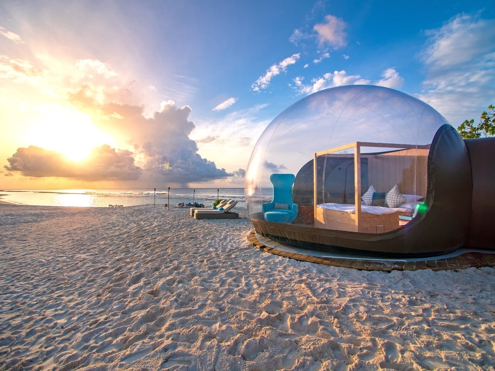 Finolhu Beach Bubble Maldives