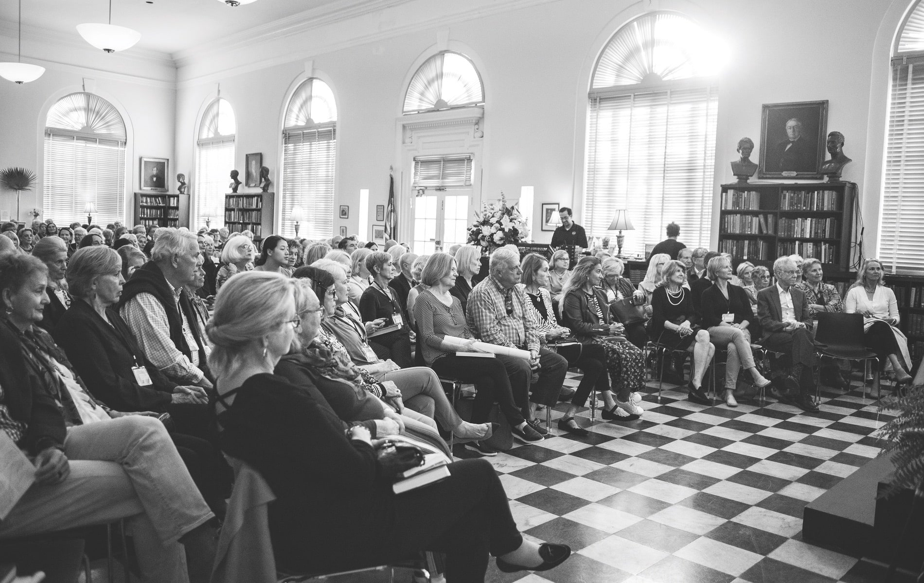 Charleston to Charleston Literary Festival, Charleston Library Society, Dock Street Theatre